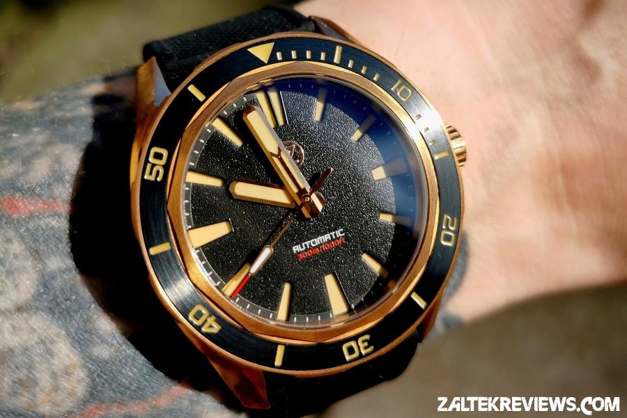 Zelos Bronze Swordfish 1