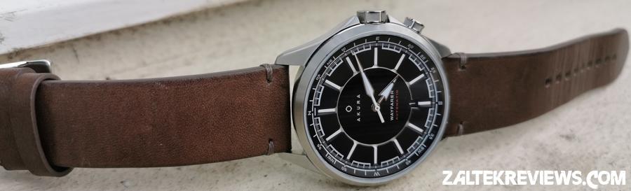 Akura Wayfarer Leather Strap