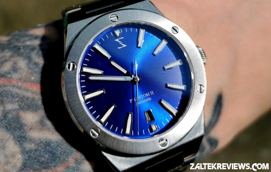 Spectre Phantom II Sunburst Blue