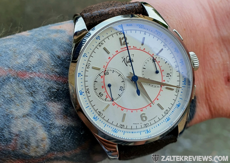 Vintro LE MANS 1952 Chronograph Automatic Stainless Steel