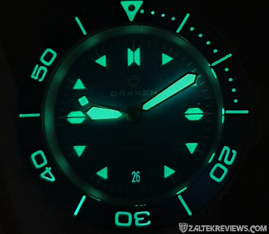 Draken Tugela 2.0 – Super Blue LE Lume Shot