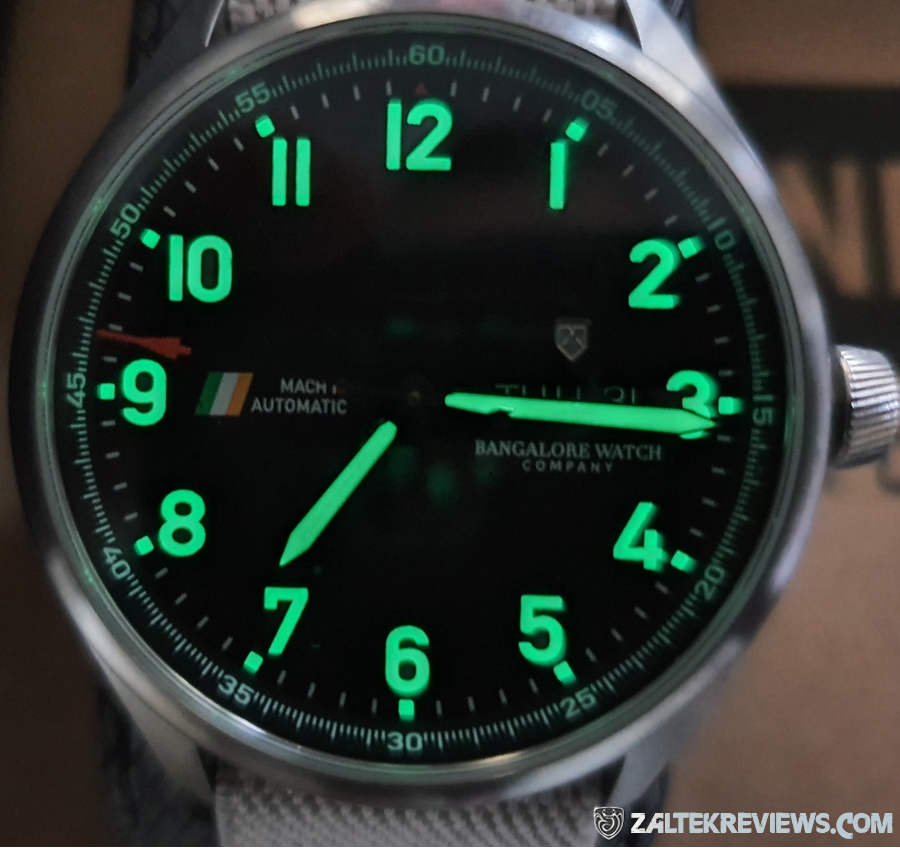 Bangalore Watch Company Mach1C Review