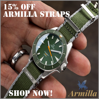 15% off at Armilla Watch Bands