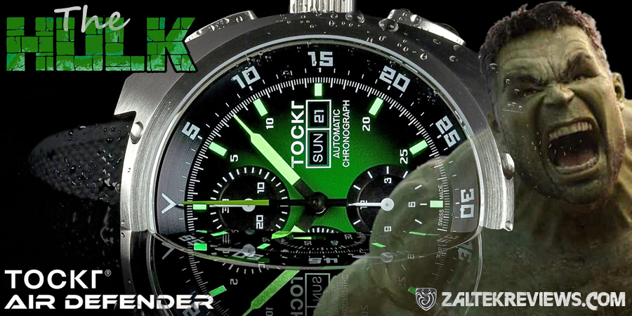 Tockr Air Defender HULK Review