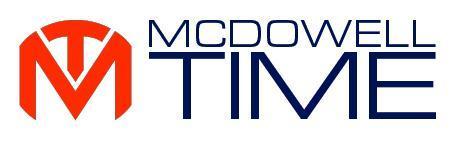 McDowell Time Logo