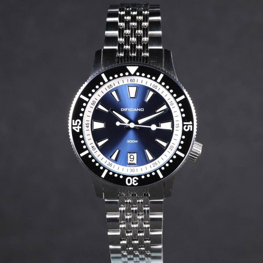 Marlin Dark Blue Sunray Dial