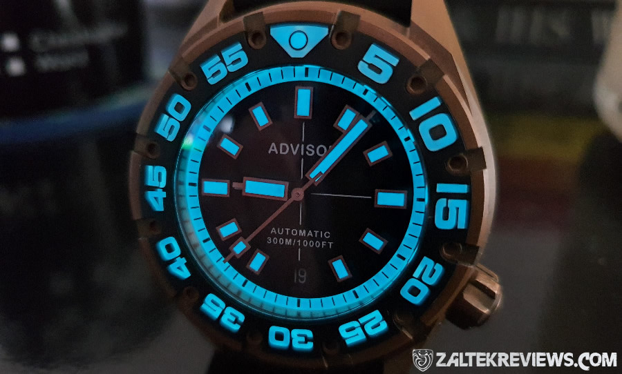 Advisor SUPA Bronze Dive Watch Review