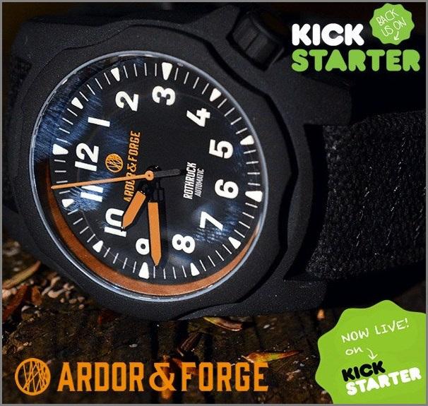 Ardor & Forge Kickstarter Campain