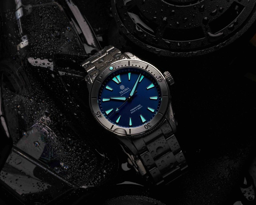 Freediver II | Blue, Stainless, No Date
