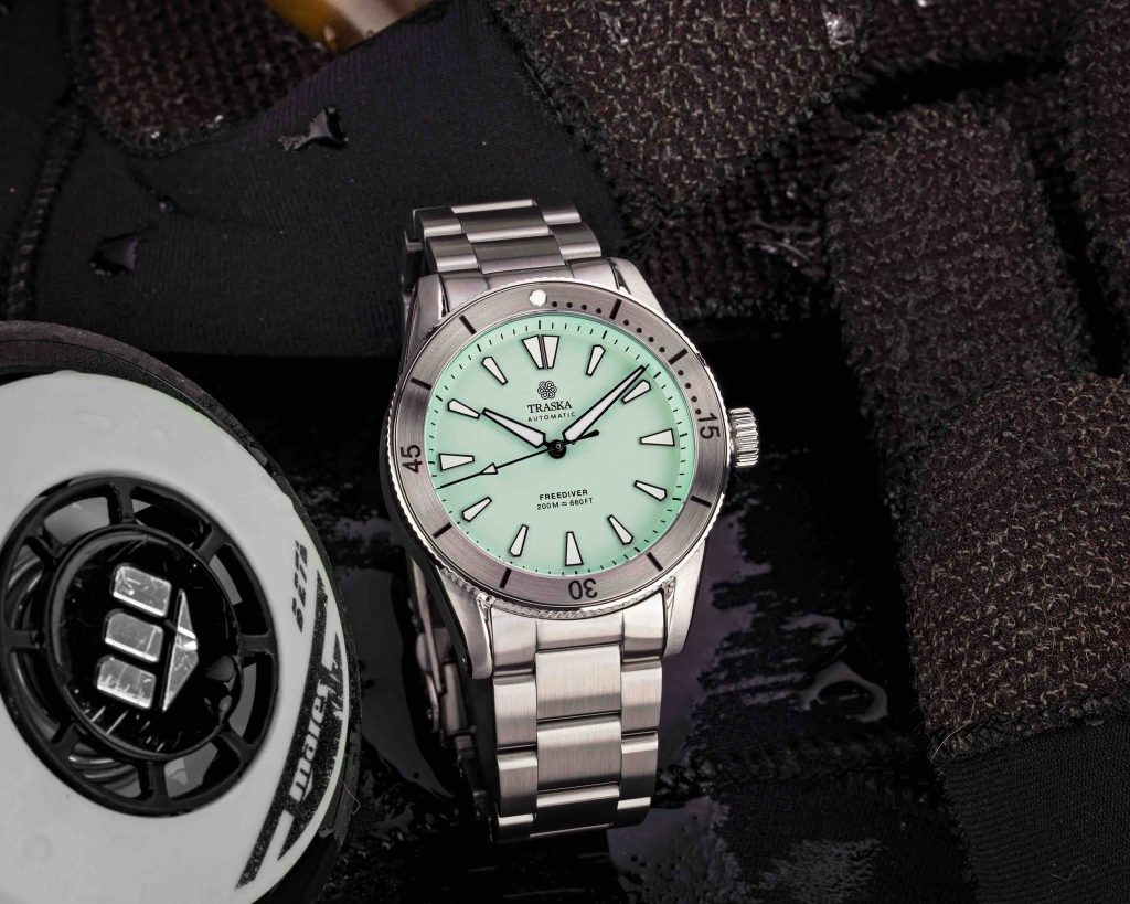 Mint Dial | Stainless Bezel | No Date