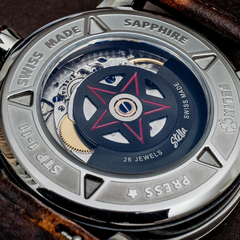 Stella Felix Display Caseback