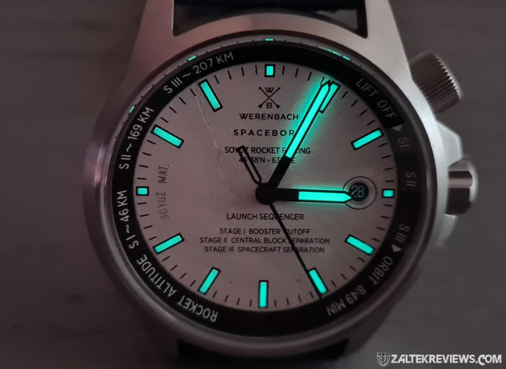 Werenbach Leonov Model 4 Review aka The Rocket Watch