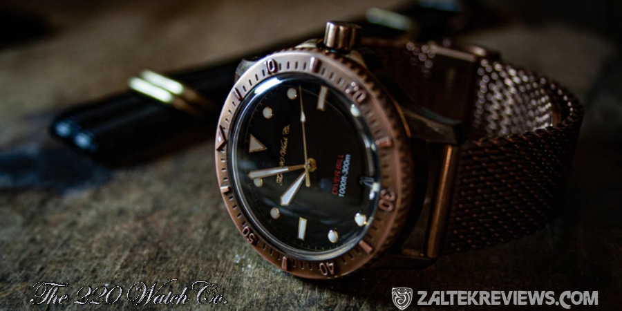 The 220 Watch Co Diver Bill