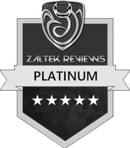 Zaltek Reviews Platinum Award