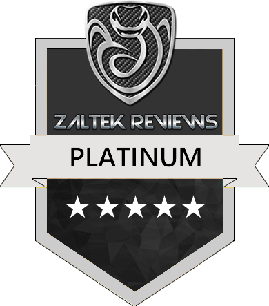 Zaltek Reviews Platinum Award