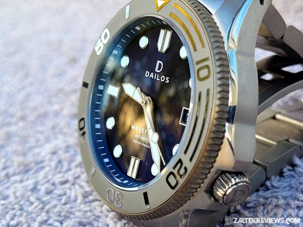 Dailos Waveform Titanium Dive Watch Review