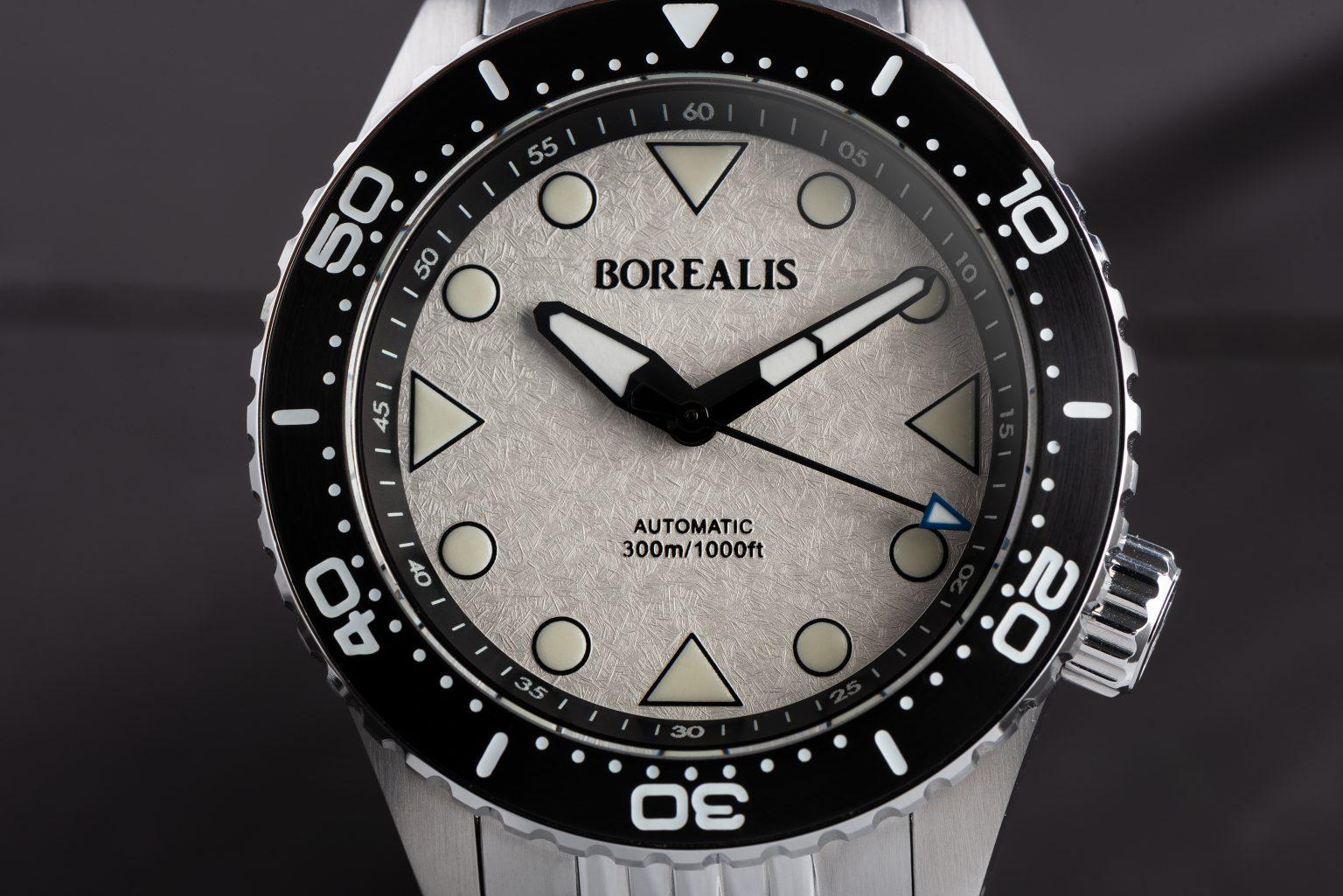 Borealis Neptuno, White Icy Frost, No Date