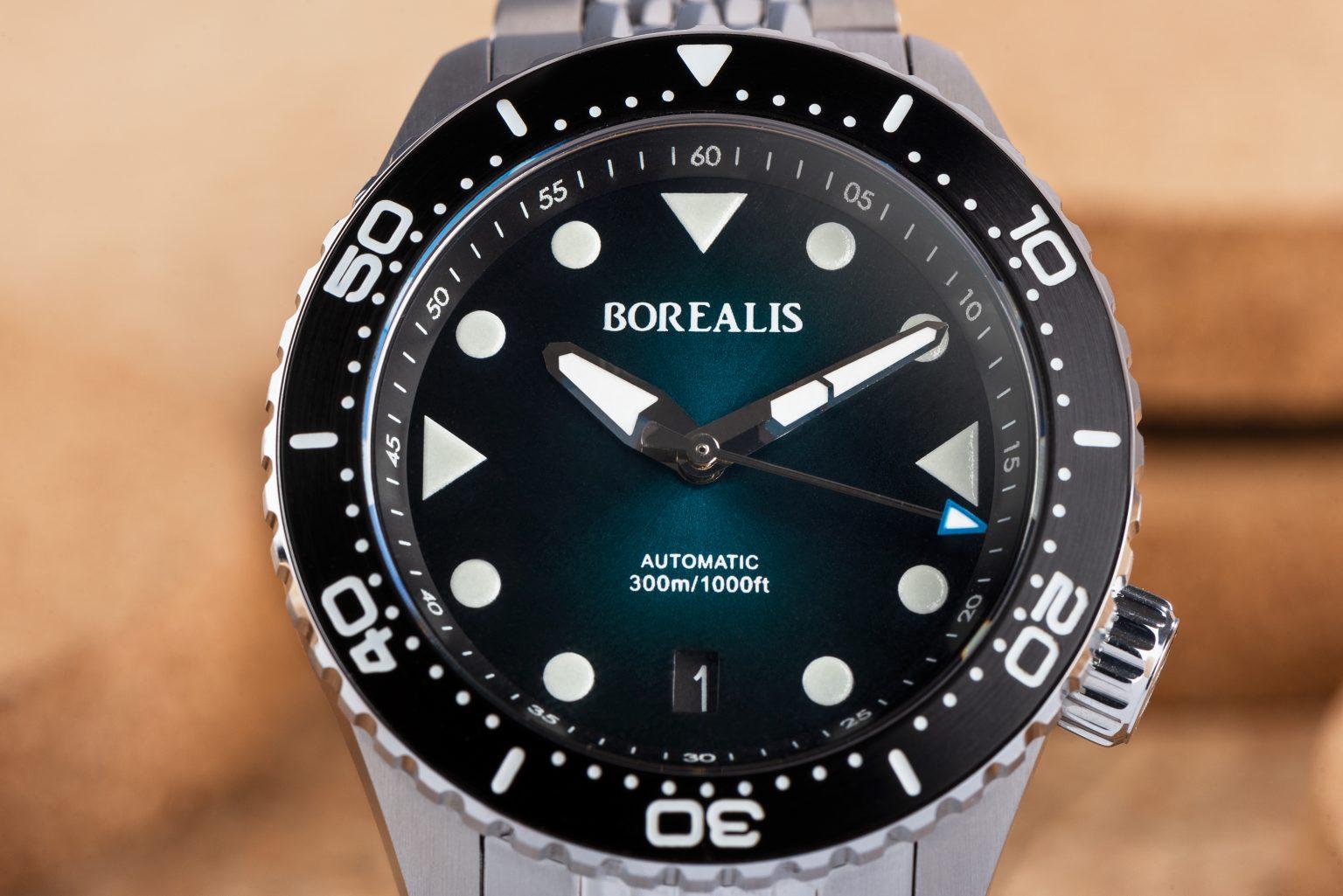 Borealis Neptuno, Green Fumé, Date