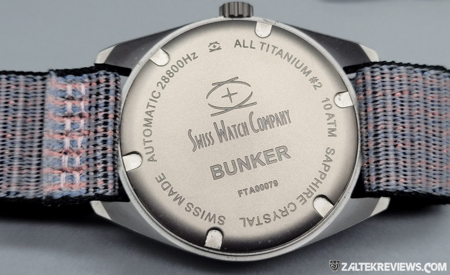 Swiss Watch Company (SWC) Bunker, Titanium Field Watch Review