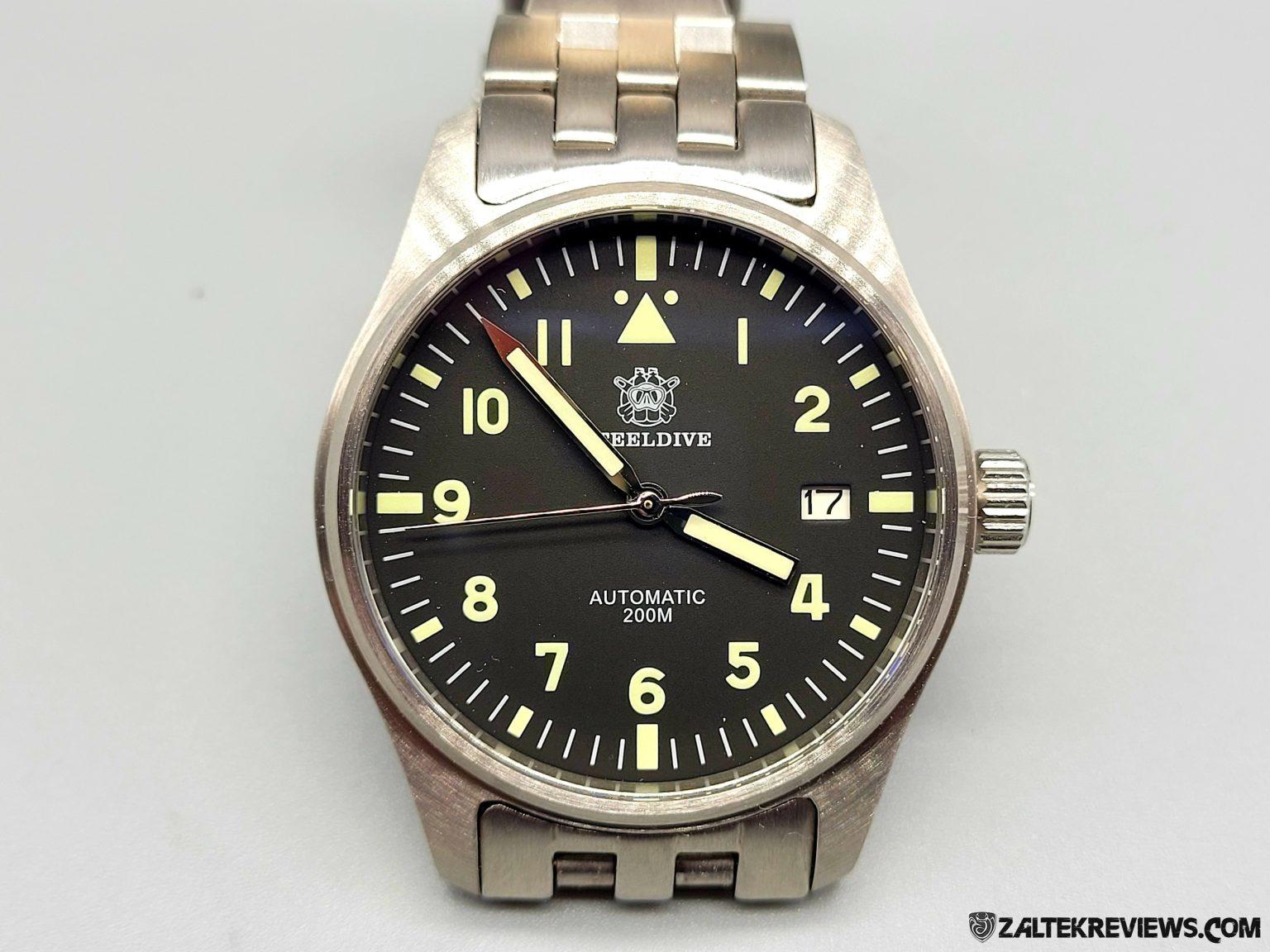 Steeldive SD1940 Pilot's Watch Mk XVIII Review