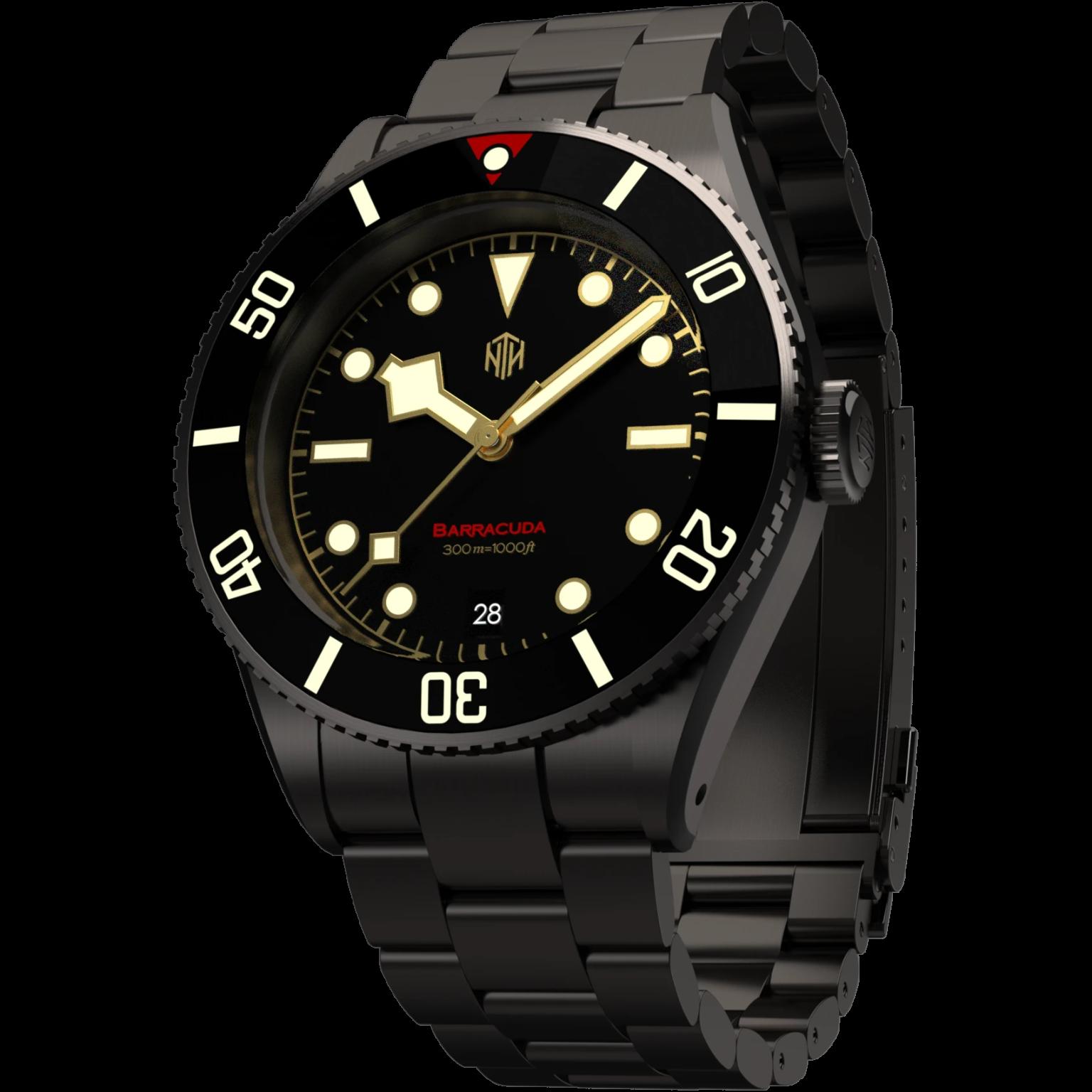 Vintage Black DLC | Date | Oyster Bracelet