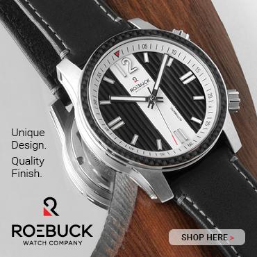 Roebuck Watch Co black