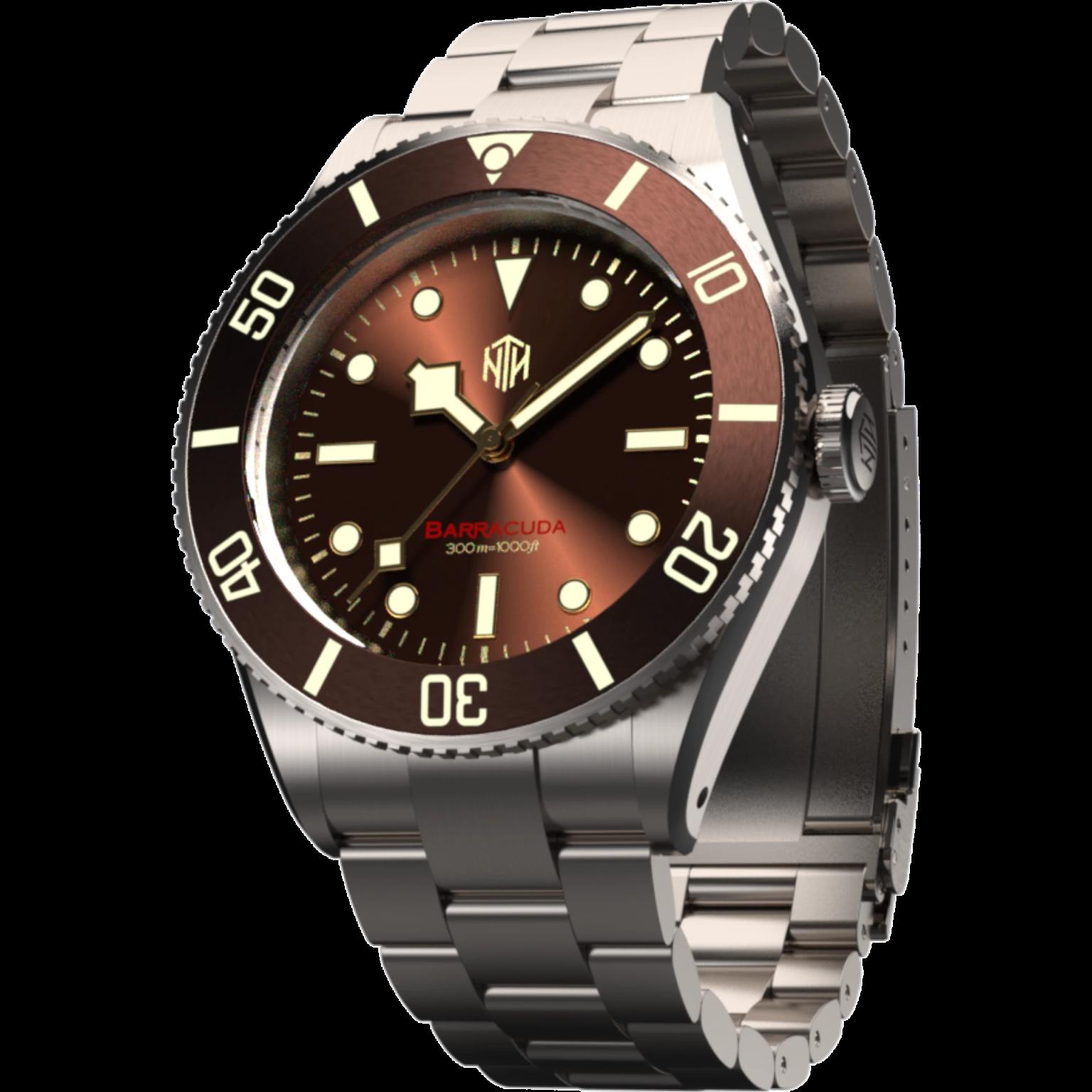 Brown | No Date | Oyster Bracelet