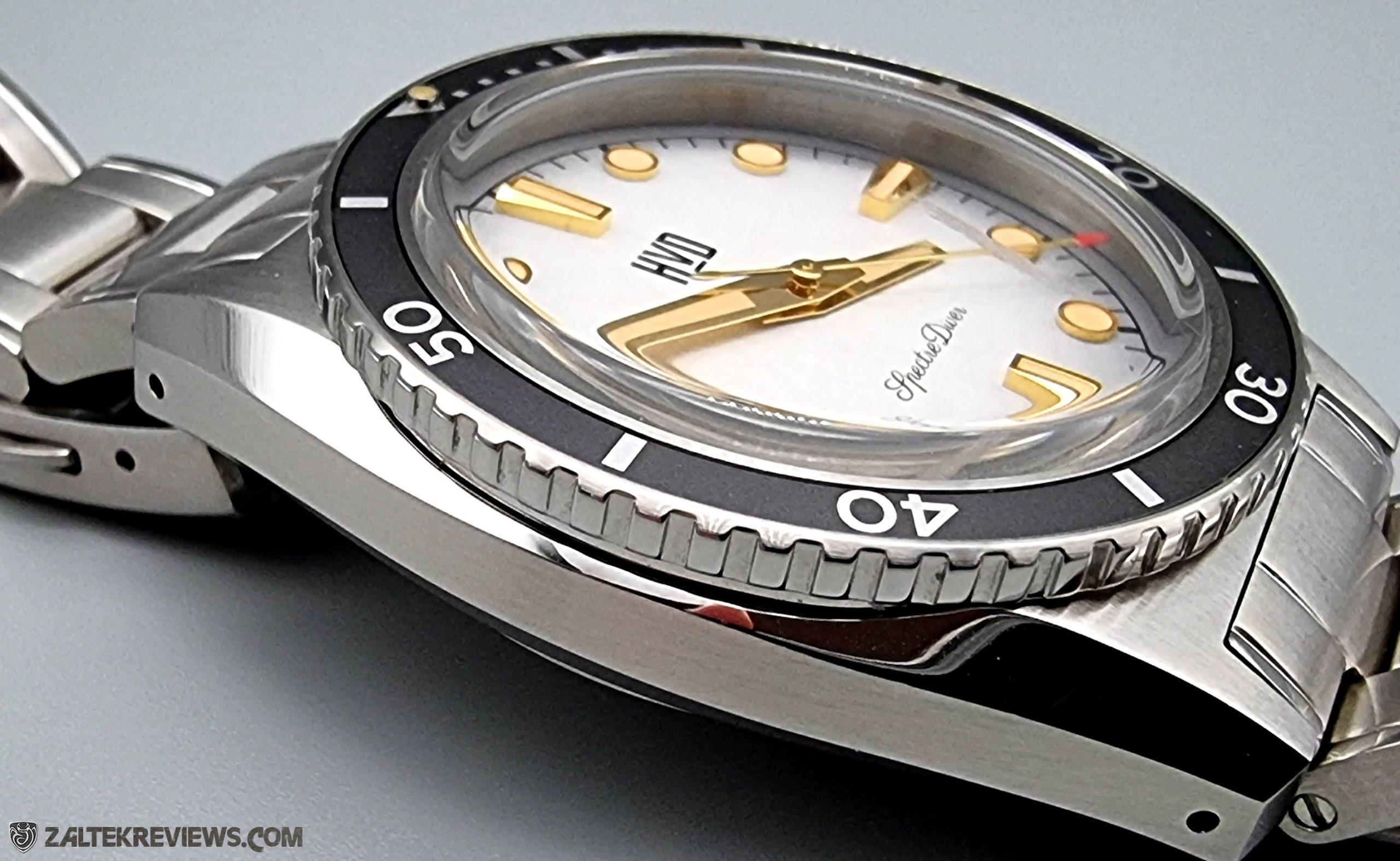 HVD Handwound Vintage Design Spectre Diver Review