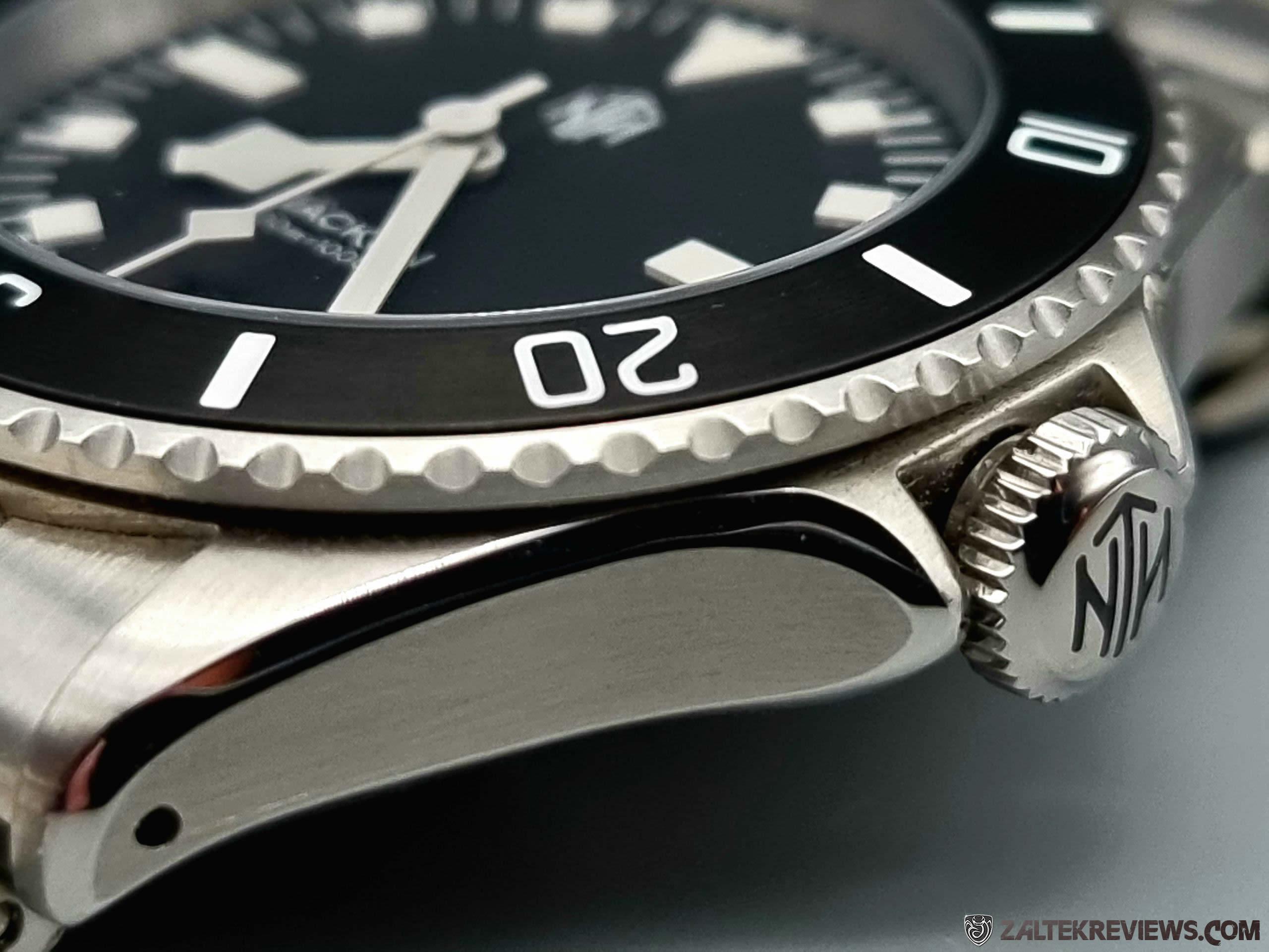 NTH Näcken v2 Modern Black Dive Watch Review