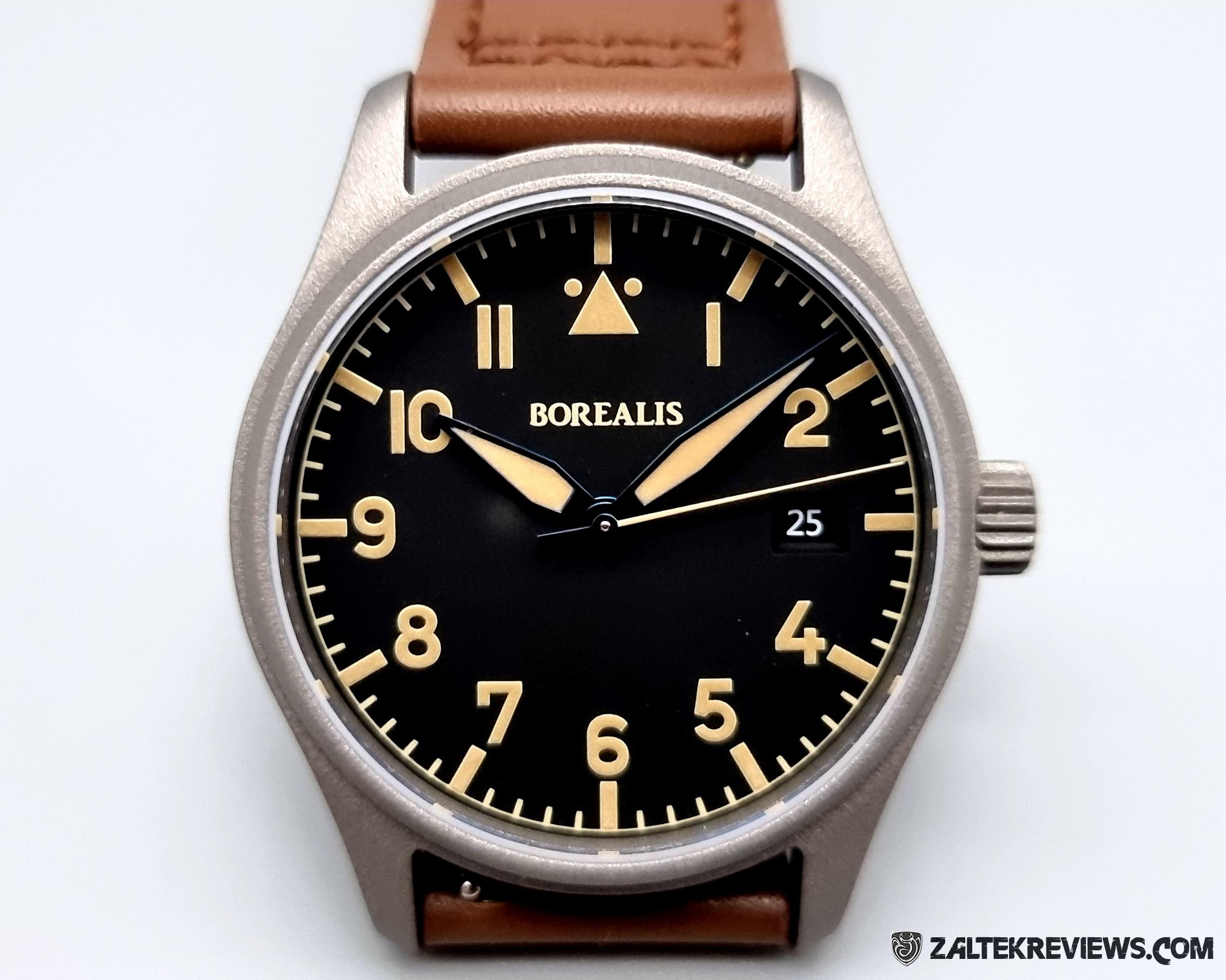 Borealis Icarus Pilot's Watch Review