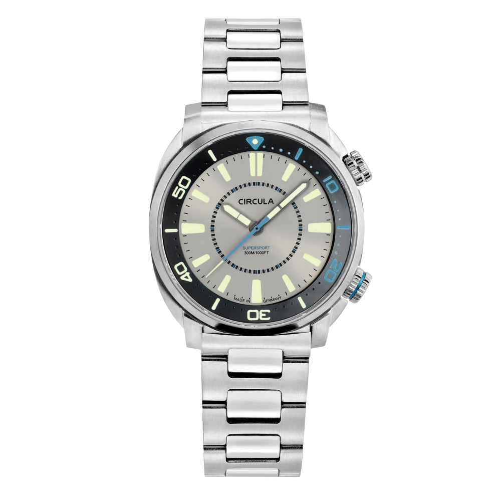 Circula SuperSport, Grey Dial - Limited Edition