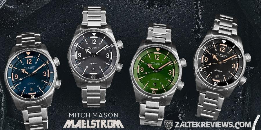 Mitch Mason Maelstrom Super Compressor Dive Watch Review